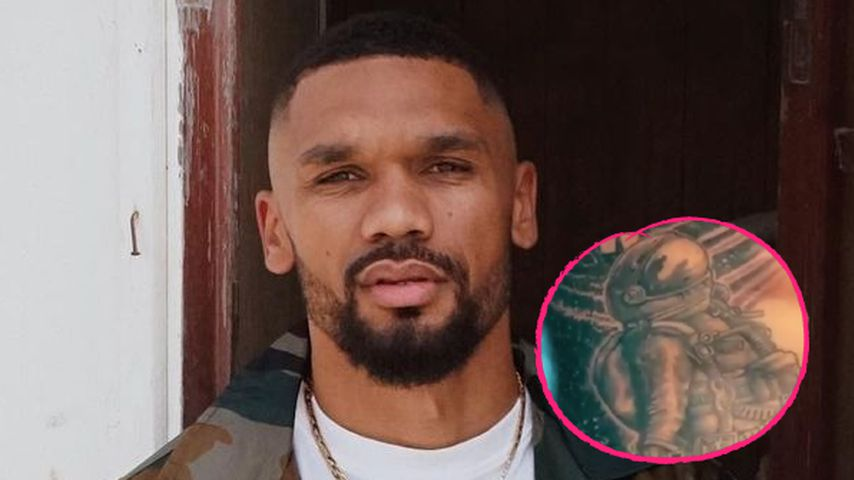 Dominic Harrison zeigt neues XXL-Tattoo auf dem Oberkörper