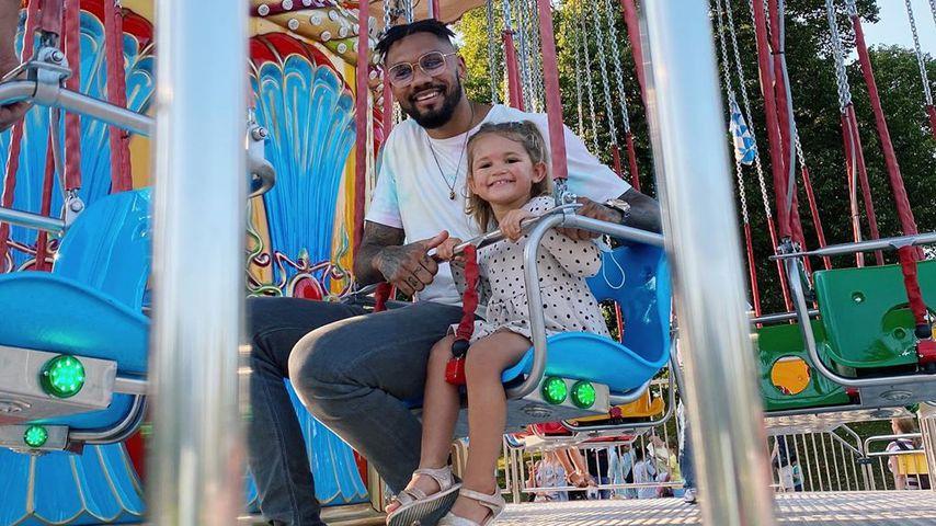 YouTube-Star Dominic Harrison mit seiner Tochter Mia