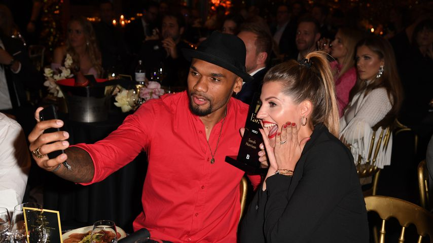 Dominic und Sarah Harrison bei den Place to B Influencer Awards 2018