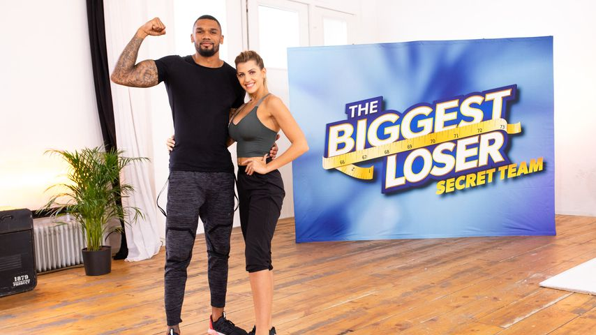 "Dominic und Sarah Harrison bei ""The Biggest Loser"""
