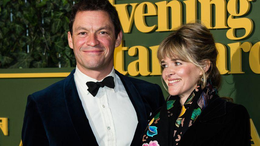 Dominic West und Catherine FitzGerald