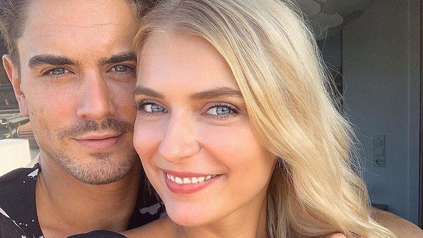 Dominik Bruntner und Jolina Fust, TV-Stars