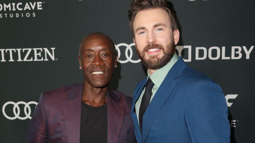 """Don Cheadle und Chris Evans bei der Premiere von """"Avengers: Endgame"""""""