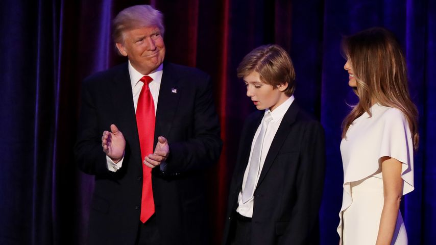 Schnarch! Donald Trumps Sohn findet Dankesrede zum Gähnen!