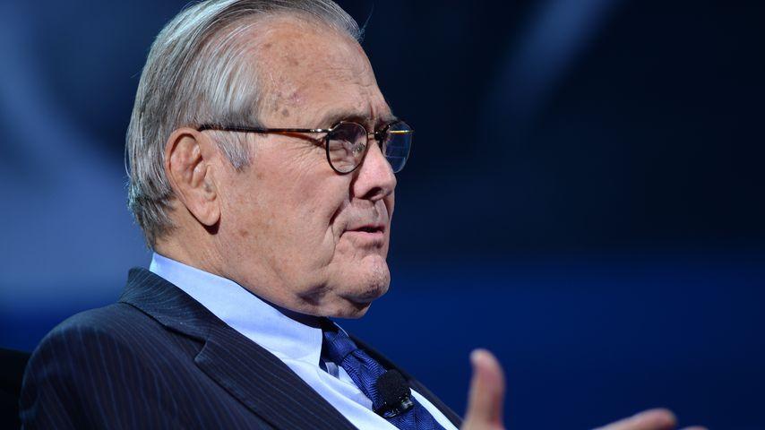 Donald Rumsfeld, 2016