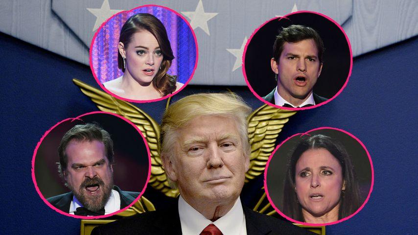 Hollywood ist sauer! SAG Awards werden zur Anti-Trump-Show