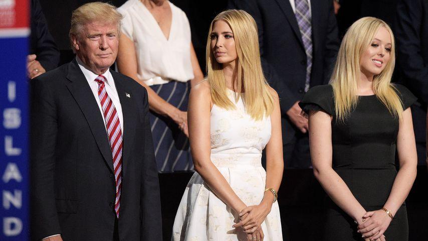 Donald Trump, Ivanka Trump und Tiffany Trump