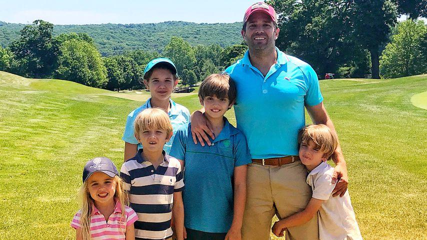 Donald Trump Jr. mit seinen fünf Kindern