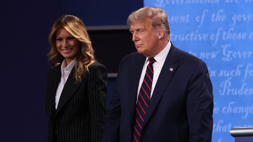 Donald Trump mit seiner Frau Melania