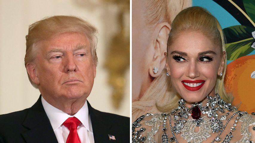 Wollte Donald Trump wegen Gwen Stefani Präsident werden?