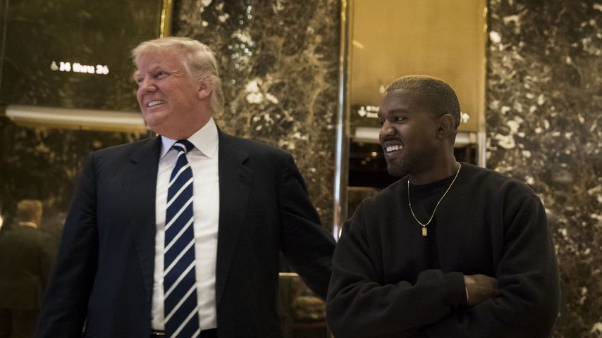 Donald Trump und Kanye West im Dezember 2016