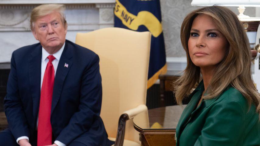 Donald Trump und Melania Trump im März 2019 in Washington