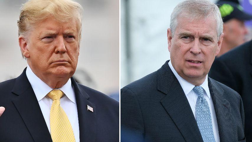 """Heftig"": So reagiert Donald Trump auf Prinz-Andrew-Skandal"