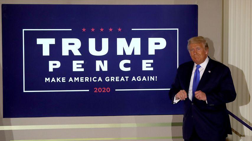 Donald Trump im Weißen Haus in Washington D.C. im November 2020