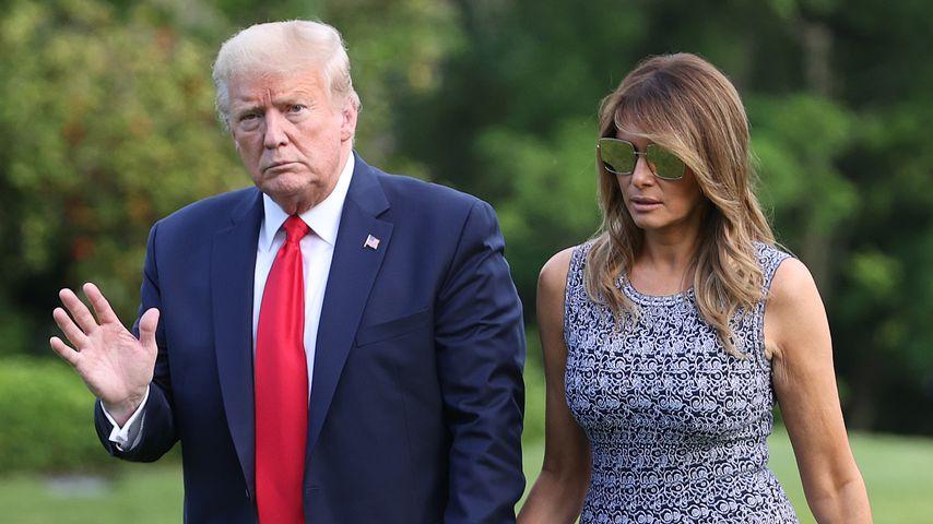 Donald und Melania Trump im Jahr 2020