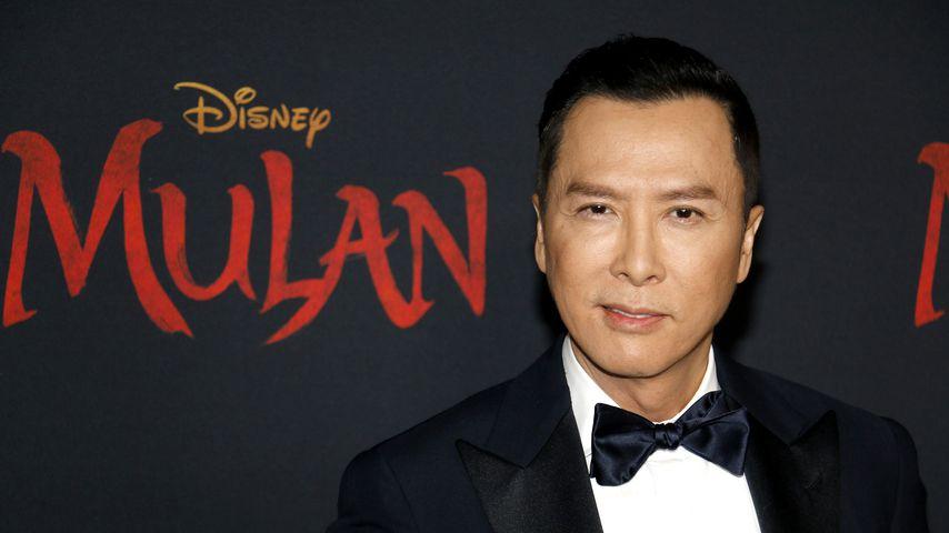 """Schauspieler Donnie Yen bei der Premiere von """"Mulan"""", 2020 in Los Angeles"""