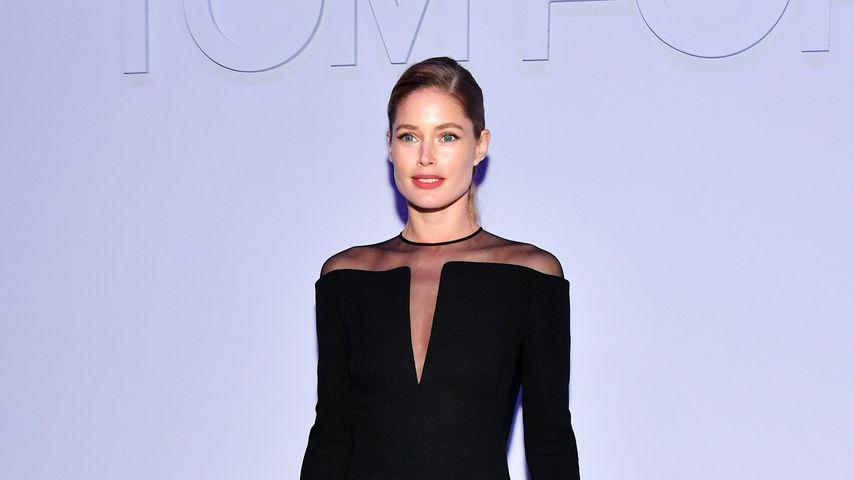 Doutzen Kroes auf der New York Fashion Week 2018