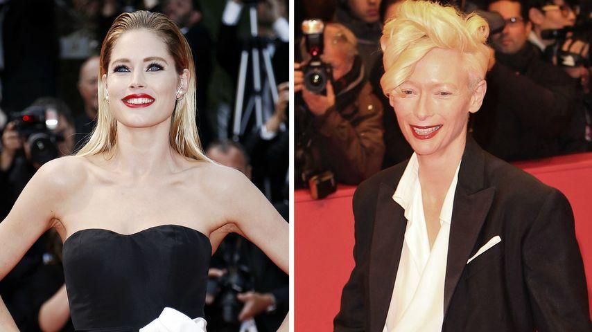 Berlin Fashion Week: Doutzen Kroes beerbt Tilda Swinton