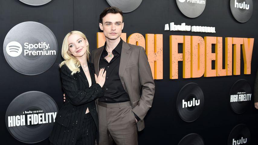 """Dove Cameron und Thomas Doherty bei der """"High Fidelity""""-Premiere in NYC im Februar 2020"""