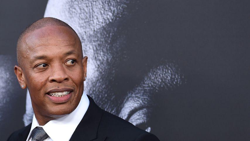 """Dr. Dre, 2017 bei einem Screening von """"The Defiant Ones"""""""
