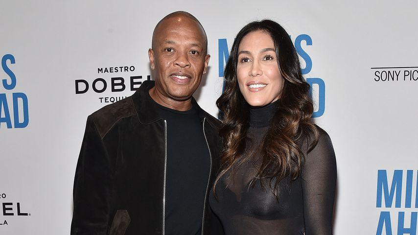 Dr. Dre und Nicole Young im März 2016 in Beverly Hills