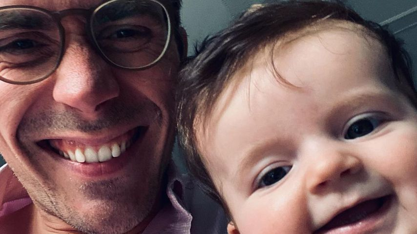 Dr. Johannes Wimmer und seine Tochter Maxi