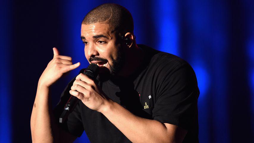 Drake auf der Bühne beim iHeartRadio Music Festival 2016 in Las Vegas