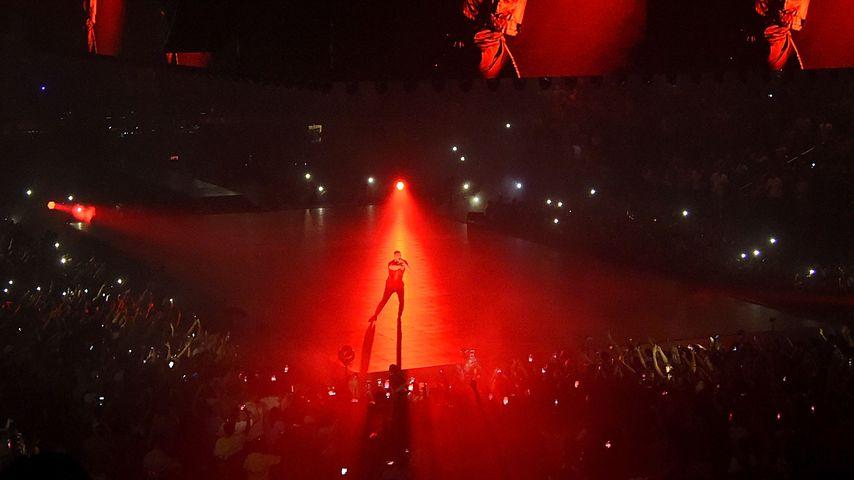 Drake bei einer Performance in New York