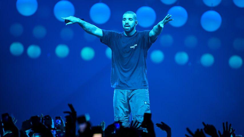 Drake, bei seiner The Boy Meets World Tour in Paris
