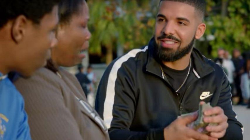 """Drake in seinem Musikvideo """"God's Plan"""""""