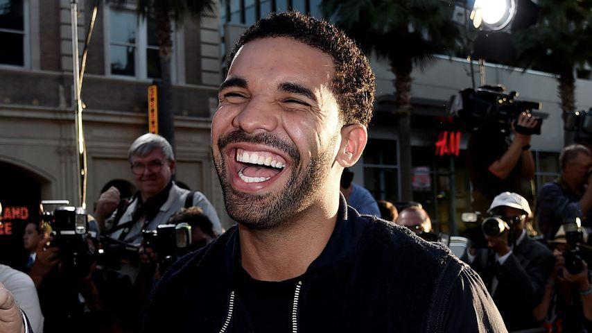 Rapper Drake, 2015