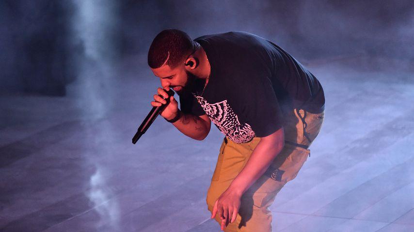 Drake bei einem Konzert in Miami 2017