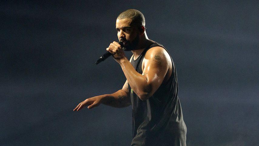 "Drake bei seiner ""The Boy Meets World""-Tour in London"