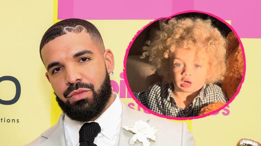 Auf der Bühne: Drakes Sohn weint bei Billboard Music Awards