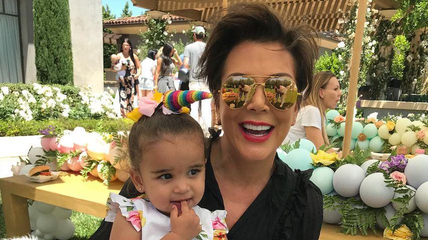 Zucker: Baby Dream feiert als Einhorn mit den Kardashians