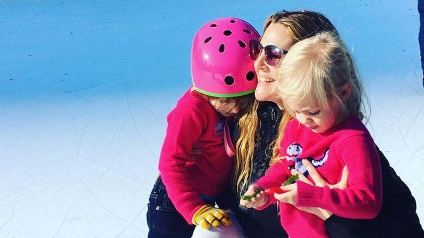 Drew Barrymore mit ihren Töchtern