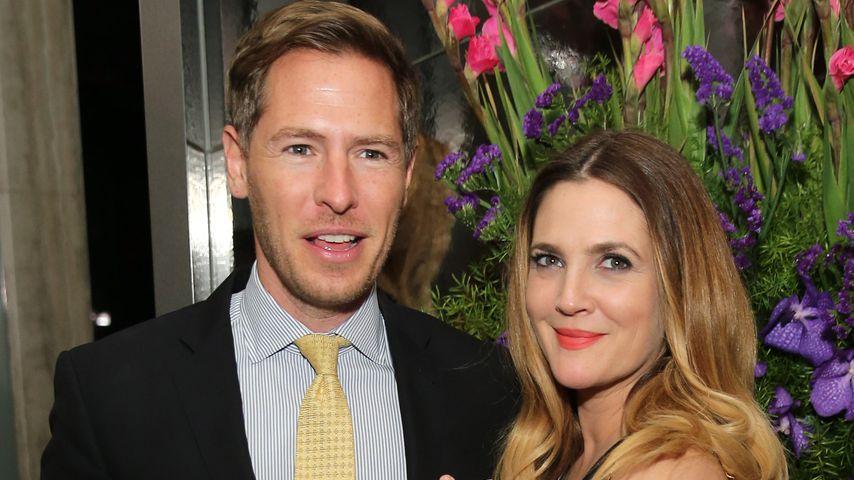 Drew Barrymore und ihr Ex-Mann Will Kopelmann bei einer Kinopremiere 2015