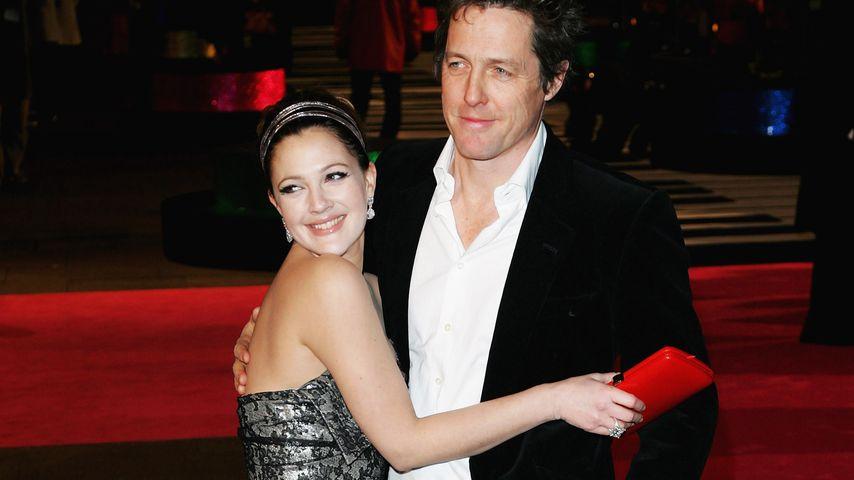 """Drew Barrymore und Hugh Grant bei der """"Music and Lyrics""""-Premiere in London, 2007"""