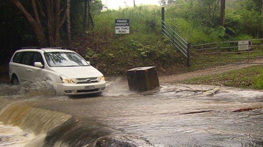 Dschungelcamp-Überschwemmung 2012