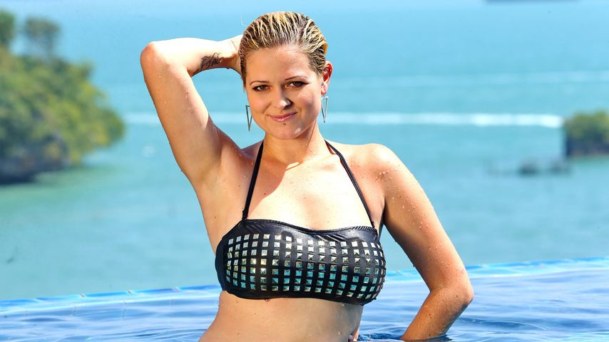Viviana grisafi dsds bikini nice tits