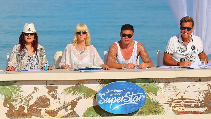 DSDS 2014: Jury mit Marianne Rosenberg, Mieze, Kay One und Dieter Bohlen auf Kuba