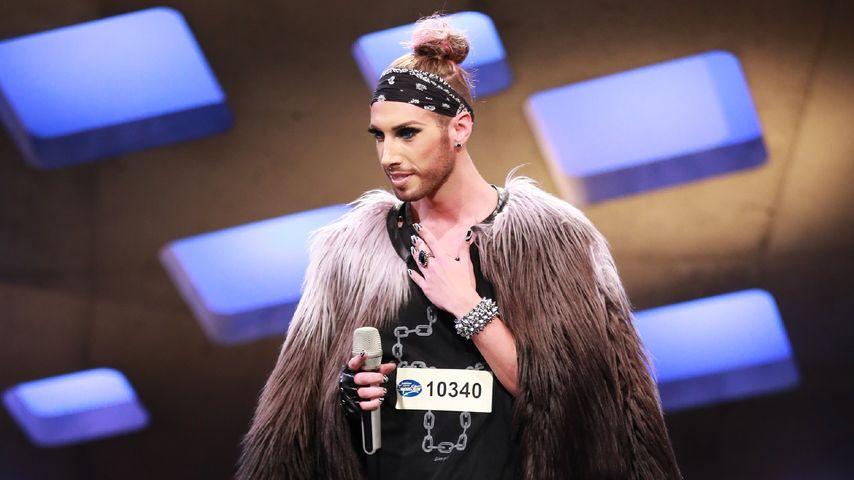Schräg! Conchita Wurst-Doppelgänger begeistert DSDS-Jury