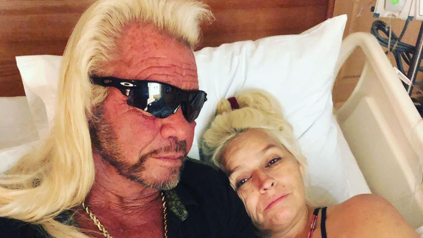Duane Chapman und seine Frau Beth in einem Krankenhaus in Beverly Hills