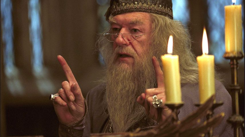 "Michael Gambon als Albus Dumbledore in ""Harry Potter"""