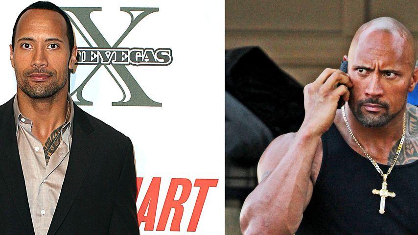 Dwayne Johnson XXL: So breit ist The Rock geworden