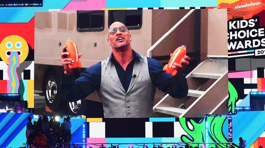 """Dwayne """"The Rock"""" Johnson bei den Kids' Choice Awards 2018"""