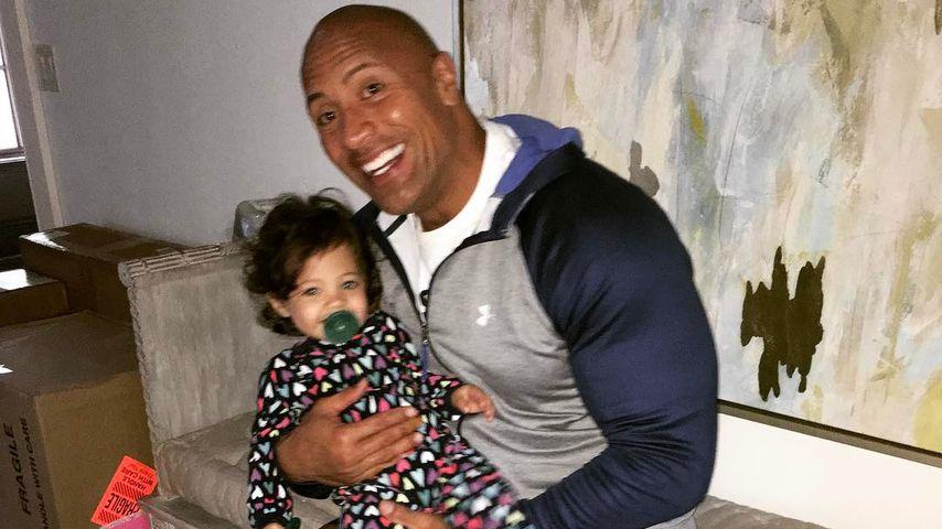 Dwayne Johnson und Jasmine
