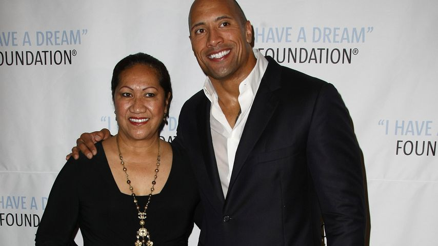 "Dwayne ""The Rock"" Johnson mit seiner Mutter Ata"