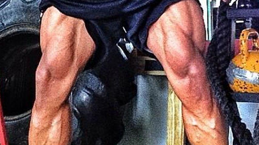 Unfassbar! Dwayne Johnsons extreme Muskel-Beine
