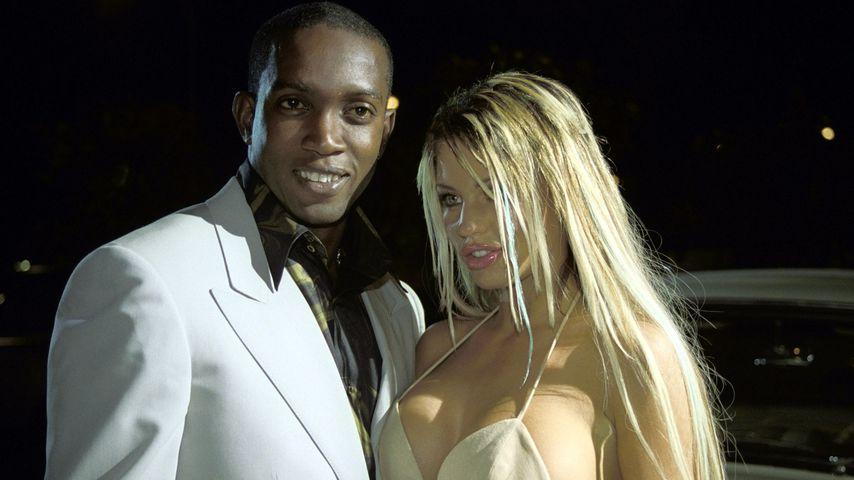 Fußballer Dwight Yorke und Katie Price, 2001